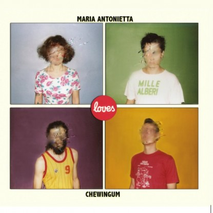 Collaborazione tra Maria Antonietta e i Chewingum
