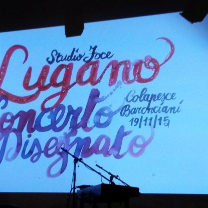 Colapesce + Alessandro Baronciani @Studio Foce Lugano
