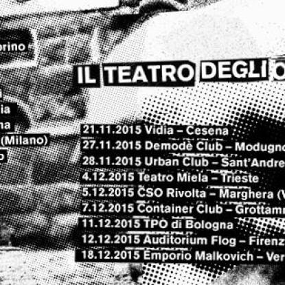Vinci due biglietti per Il Teatro degli Orrori il 20 novembre alla Latteria Molloy di Brescia