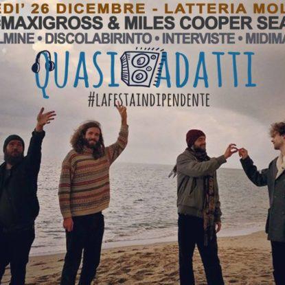 Vinci due biglietti per il concerto di C+C=Maxigross & Miles Cooper Seaton alla Latteria Molloy di Brescia