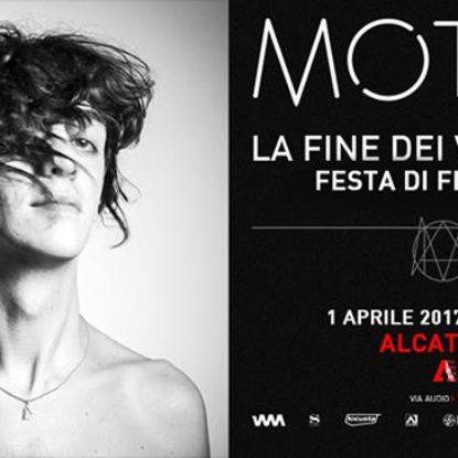 La fine del tour di Francesco Motta: concerto evento il 1° Aprile all'Alcatraz