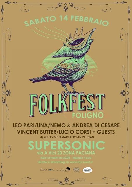 Folk Fest fa tappa in Umbria: Lucio Corsi, Una, Vincent Butter, Leo Pari e altri