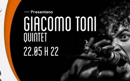 Vinci due biglietti per Giacomo Toni il 22 maggio al Circolo Masada di Milano