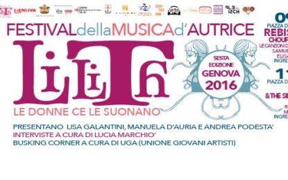Lilith Festival a Genova l'11 e il 12 giugno