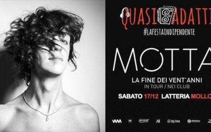 Vinci due biglietti per il concerto di Motta alla Latteria Molloy di Brescia