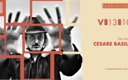 Vinci due biglietti per Cesare Basile per il 13 ottobre al Tambourine