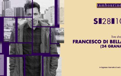 Vinci due biglietti per il concerto di Francesco di Bella (24 Grana) del 28 ottobre al Tambourine