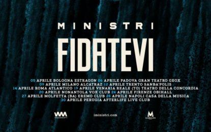 Ministri: album a marzo, tour da aprile